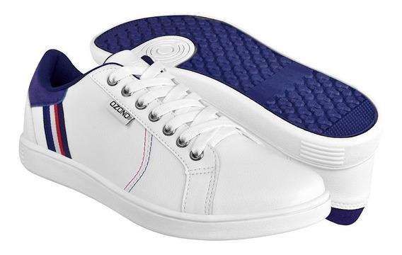 Tenis Clásicos Para Caballero Capa De Ozono 395301-03 Blanco