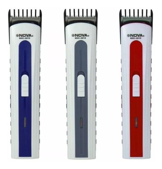Máquina Aparador Pelos Corta Cabelo Barba Pezinho Recarrega