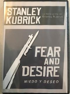 Dvd Fear And Desire / De Stanley Kubrick