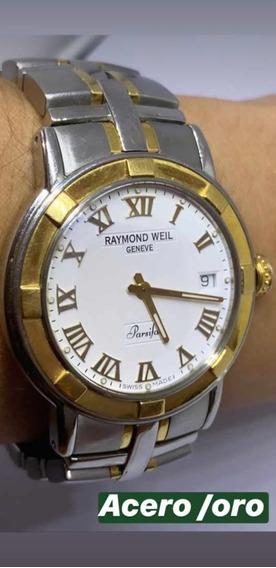Reloj En Venta Marca Raymond Weil. Acero Inox. Y Oro