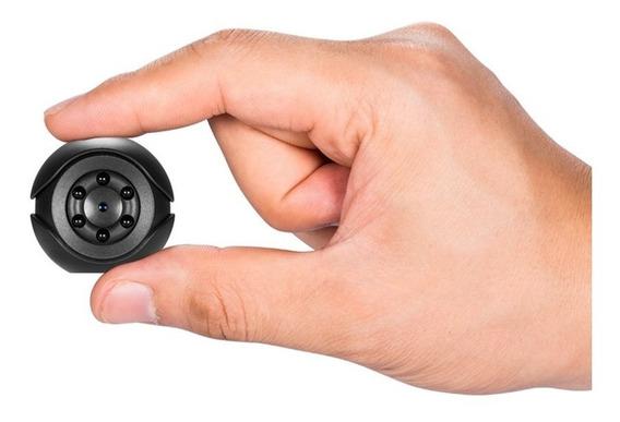 Mini Câmera 1080p 144 Grau Lente Oculto Filmadora Preto
