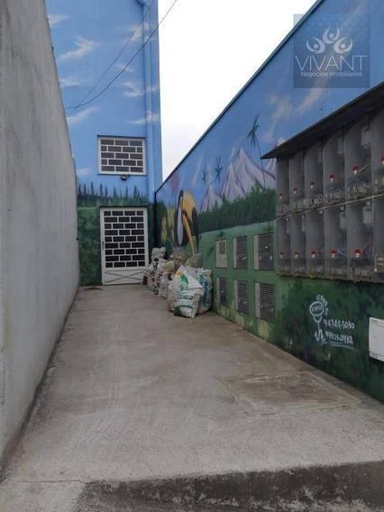 Kitnet Reformado Com 1 Dormitório Para Alugar Por R$ 550/mês - Jardim Anzai - Suzano/sp - Kn0014