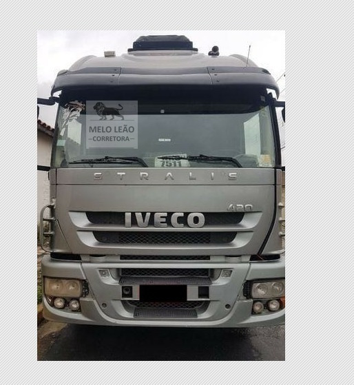 Iveco Stralis Hd 570s42t - 07/08 - Cavalo Truck, Cab Leito
