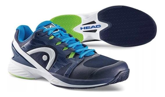 Zapatillas Head Nitro Pro Clay Azul/bla Tenis Padel (po)