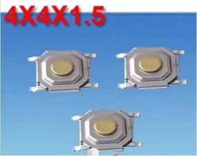 Botão Tact 4 Pino Interruptor Micro Switch Smd 50pçs P\e