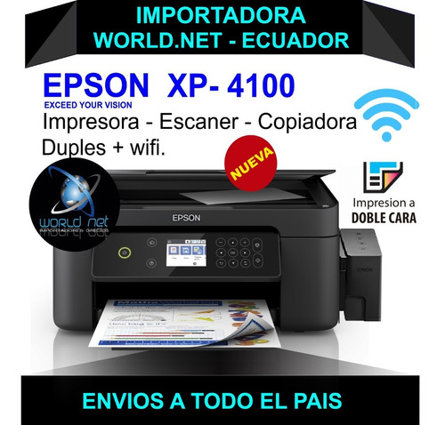 Impresora Epson Xp 4100
