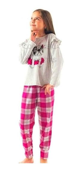 Pijama Nena Niña Marca Mariene De Los Talles 10 Al 16