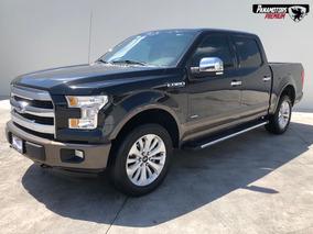 Ford Lobo Lariat 4x4 Negro 2015