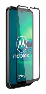 Vidrio Templado Full Glue Premium 5d 6d Moto G8 Plus G8 Play