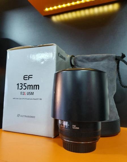 Lente Canon Ef 135mm F2