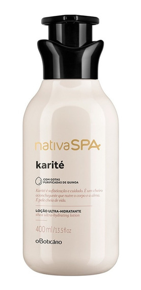 Nativa Spa Loção Ultra Hidratante Desodorante Corporal Karit