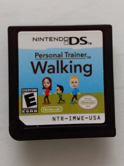 Personal Trainer Walking, Ds