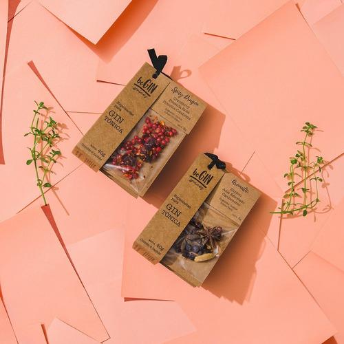 2 Kits De Especiarias Para Gin Tônica (12 Sachês)
