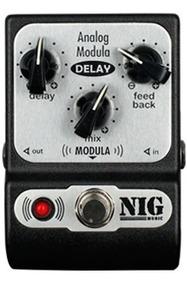 Pedal Analog Modula Delay Chorus Nig Padm Nf Garantia Brinde