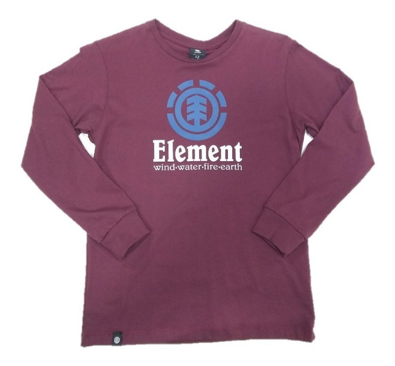 Remera Niño Element Manga Larga 23176003 Cbo