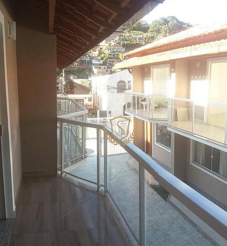 Casa Com 2 Dormitórios À Venda, 90 M² Por R$ 289.000,00 - Caxangá - Teresópolis/rj - Ca0093