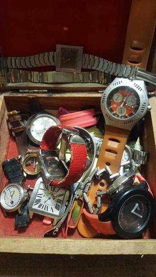 Lote Relojes Para Reparación O Piezas