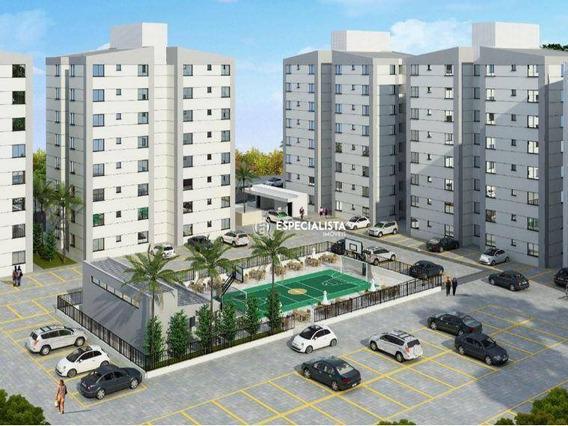 Apartamento Com 2 Dormitórios À Venda, 54 M² Por R$ 176.000 - Boa Esperança - Santa Luzia/mg - Ap0024