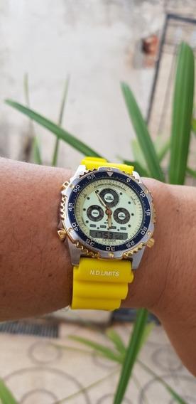 Relógio Citizen Combo C110 Natulith Para Colecionadores