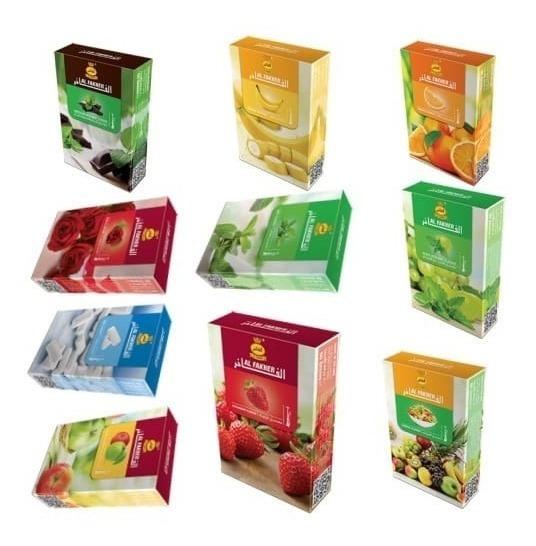 Tabaco Para Narguile Al Fakher 1 Caja X 50 Grs Sabores