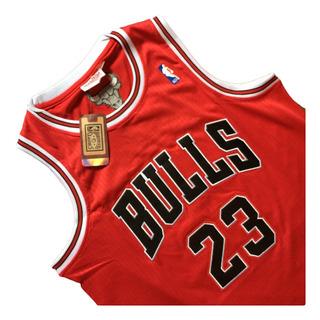 Nba Camiseta Conmemorativa Michael Jordan #23 Bulls 1998
