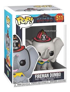 Funko Pop Dumbo Bombero 511 Original Disney Scarlet Kids