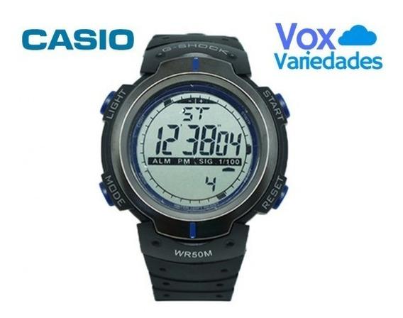 Relógio Digital Casio G-shock Preto E Azul