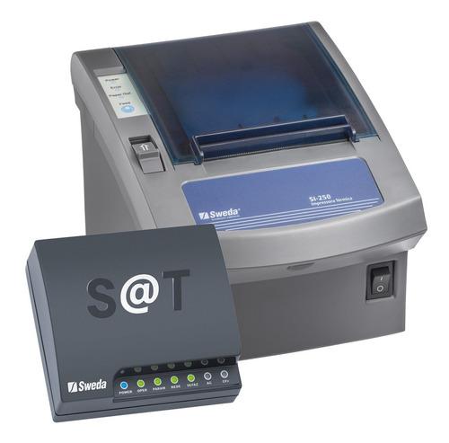 Kit Sat Fiscal Sweda - Sat Ss-2000 + Impressora Si-250