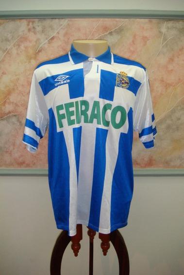 Camisa Futebol La Coruna Espanha Umbro Antiga 571