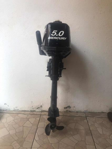Motor De Popa Mercury 5.0 Hp Novo