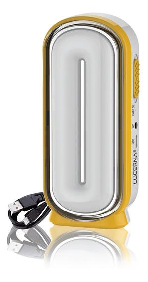Lámpara Led De Carga Solar Lucerna