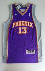 Camisa Steve Nash Phoenix Suns Roxa