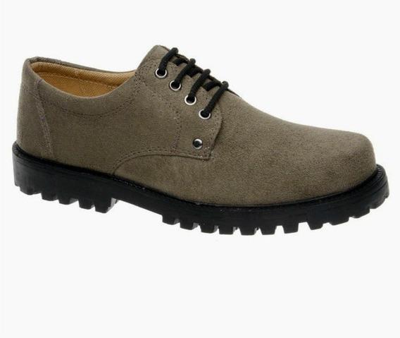 Sapato Cano/gáspea Fearnothi Camurça Sintético