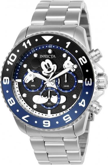 Bello Reloj Invicta Disney Edición Limitada Acero Colección