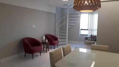 Cobertura Com 2 Quartos À Venda, 166 M² - Jardim Apipema - Salvador/ba - Co0115