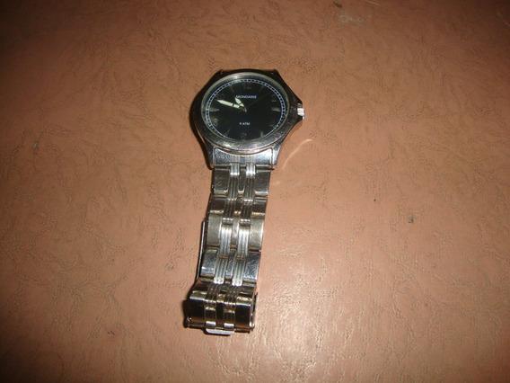 Relógio De Pulso Marca Mondaine De Aço Inoxidável Original