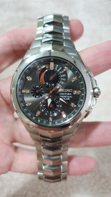 Seiko Solar Coutura Chronograph Diamond No. Ssc561