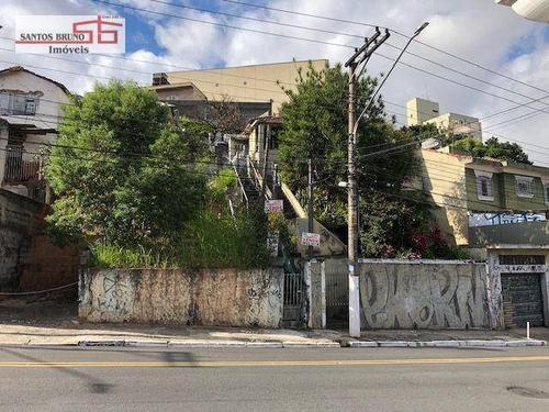 Terreno À Venda, 342 M² Por R$ 649.000,00 - Pirituba - São Paulo/sp - Te0097