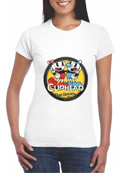 Cup Head 2 Game Envío Gratis Dama Htwearmx