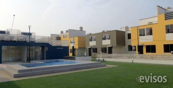 Hermosa Casa En Condominio Club Oasis De Carabayllo