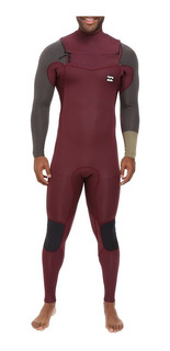 Traje Neoprene Billabong 302 Revolution Tribong Chest Zip