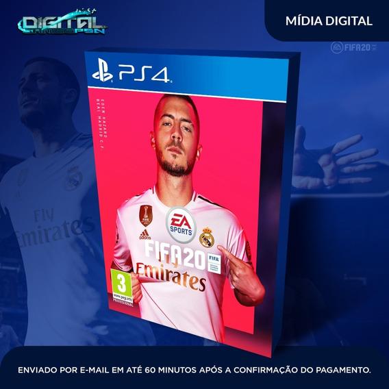 Fifa 20 2020 Ps4 100% Dublado Pt Br Envio Digital No Dia