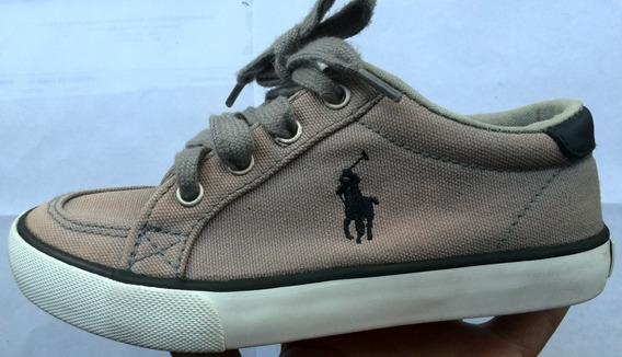 Zapatos Polo Originales, Casuales, Color Gris