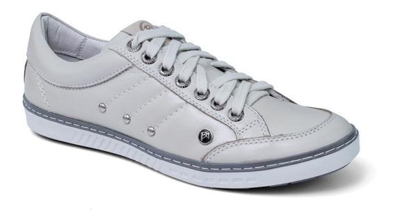 Sapato Sapatênis Masculino Casual Couro Bmbrasil 750/07