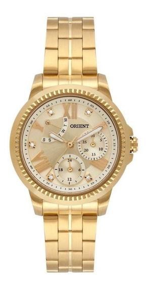Relógio Orient Fgssm064 C3kx Fem Dourado - Rev Autorizada