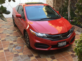 Honda Civic Coupe 2015 Factura Original Único Dueño