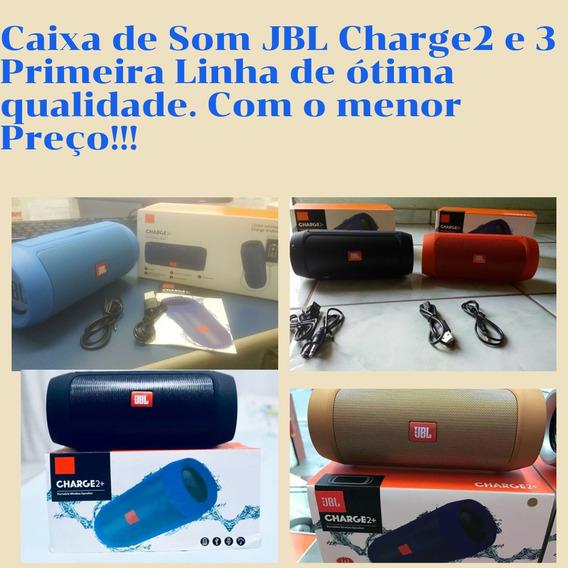 Caixa De Som Charge 2 Bluetooth Conecta Com Celular Pen Driv