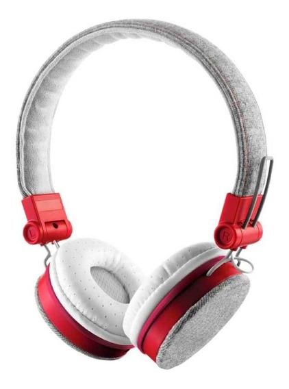 Headphone Dobravel Mobile Cinza E Vermelho T20073 - Trust