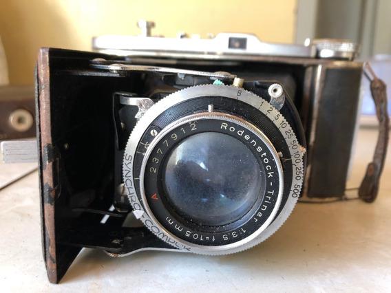 Câmera Fotográfica Antiga Balda Balda Baldalux 120 Met Roden