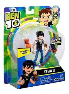 Boneco Ben 10 - Kevin 11 - Figura Em Ação - Sunny